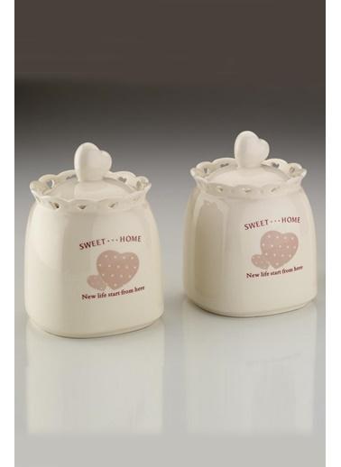 Kütahya Porselen Sweet Home 6 Parça Baharat Takımı Renkli